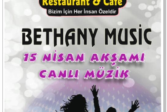 LOCA CAFE VE RESTAURANT CANLI MÜZİK BROŞÜRÜ