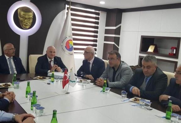 CHP Artvin Milletvekili Bayraktutan'dan Hopa TSO'ya Ziyaret