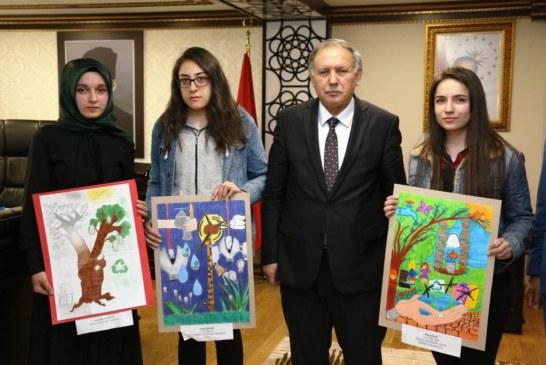 Çoruh EDAŞ'tan 'Enerji Tasarrufu' Konulu Resim Yarışması