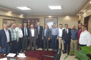 DKİB Başkanı Seçilen Kalyoncu'ya Hayırlı Olsun Ziyareti