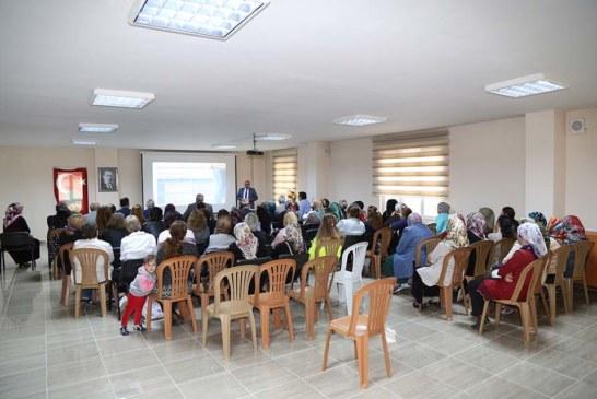 """""""Sakin Şehir Şavşat'ın Aktif Kadınları"""" Proje Tanıtım Toplantısı Gerçekleştirildi"""