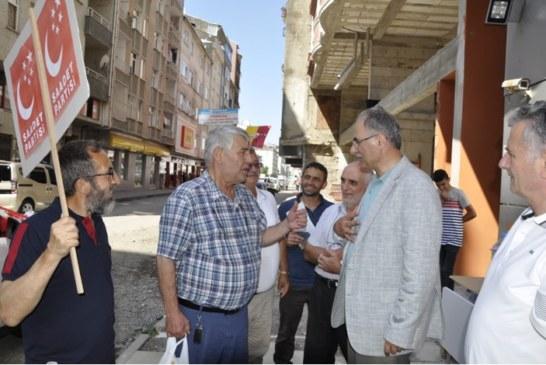 Artvin SP Milletvekili Aday, Berber'e Hopa'da Yoğun İlgi