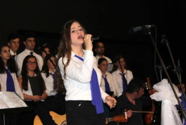Hopa'da Türk Halk Müziği Konserine Katıldı
