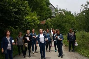CHP Kadın Kolları Çalmadık Kapı Bırakmıyor