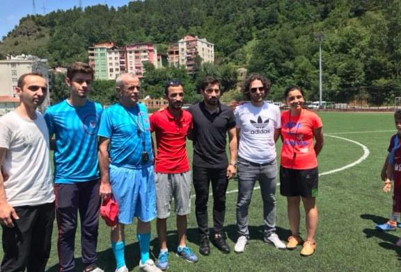 Fenerbahçeli Şener Özbayraklı Artvin'de