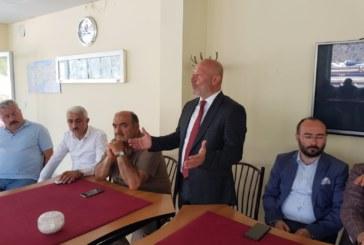 AK Parti adayı Balta, Artvin'de STK'larla Bir Araya Geldi