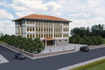 Arhavi'de İlçe Gıda, Tarım Ve Hayvancılık Müdürlüğü Binası İnşasına Başlandı