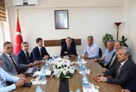 Artvin Arhavi Organize Sanayi Bölgesi Müteşebbis Heyeti Toplantısı Yapıldı