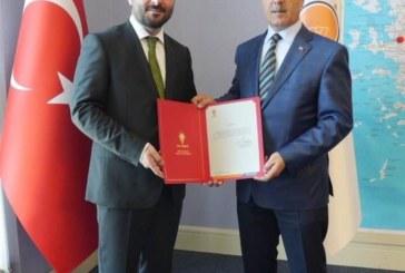 AK Parti İl Başkanlığı'na Atama Yapıldı