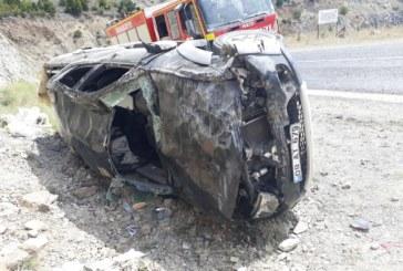 Artvin'de Trafik Kazası: 2 Yaralı