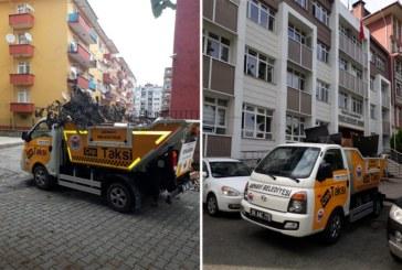 """Başkan Hekimoğlu: """"Daha Güzel Ve Daha Temiz Bir Arhavi İçin Çalışıyoruz"""" Çöp Taksi 7 Gün 24 Saat Hizmet Vermeye Devam Ediyor"""