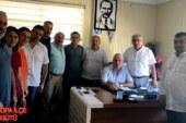 CHP Hopa İlçe Yönetim Kurulu Başkanı İskender Bir Dizi Ziyarette Bulundu