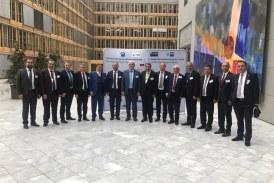 TATSO Genel Kurulu Berlin'de Yapıldı Berlin'de gerçekleştirilen Türk-Alman Ticaret ve Sanayi Odası (TATSO) 13. Olağan Genel Kurul toplantısına Artvin Ticaret ve Sanayi Odası Başkanı Seçkin Kurt katıldı.