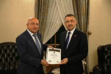 TGC Kağıt Krizi Raporu'nu Cumhurbaşkanlığı'na Sundu Artvin Gazeteciler Cemiyeti'nin de üyesi olduğu Türkiye Gazeteciler Cemiyeti, Kağıt Krizi Raporu'nu Cumhurbaşkanlığı'na Sundu