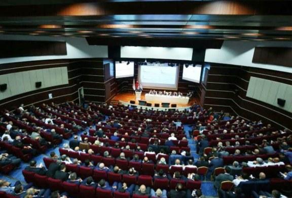 AKPARTİ YEREL SEÇİMLER ÖNCESİ İLÇE BAŞKANLARINI TOPLADI Ak parti Genel Merkezi Yerel seçimler öncesi İlçe Başkanlarını Ankara'da toplayarak eğitimden geçirdi. Artvin ve İlçeleri Başkanları da toplantıya tam kadro katildi.