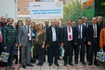 Doğu Karadeniz Bölgesi Bölge Grup toplantısı Düzenlendi