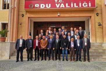 81 İlin Gazetecileri Ordu´da Toplandı Artvin Basınının Sorunları Ordu'da Masaya Yatırıldı Türkiye Gazeteciler Konfederasyonu (TGK) 17. Başkanlar Kurulu'nun Ordu´da gerçekleştirilen  toplantısına  Artvin Gazeteciler Cemiyeti Başkanı Zeki Alkan ve Artvin basının önemli isimleri de katıldı.