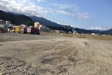 Artvin'e Yakışmayan Batum Havalimanı Hopa Yolcu Aktarma İstasyonu Yolu